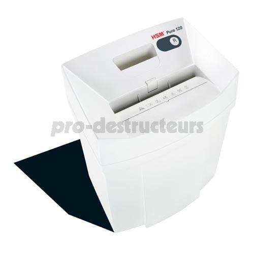votre achat de destructeur de documents 120 pure 4 x 25 mm. Black Bedroom Furniture Sets. Home Design Ideas