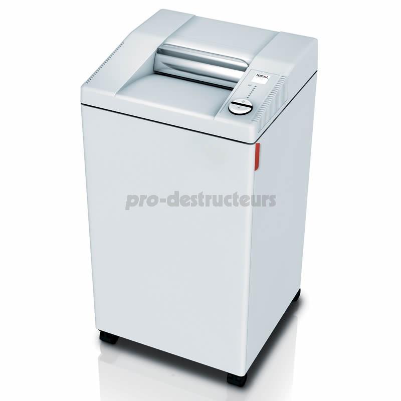 Votre achat de destructeur de documents 2604 c c 2 x 15 mm - Destructeur de documents coupe croisee ...
